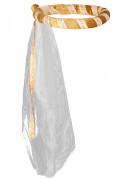 Kopfring mit Schleier für Mädchen