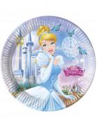 Cinderella™ Partyteller 8 Stück Lizenzware 23 cm