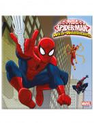 Servietten mit Spiderman Motiv 20 Stück bunt 33 x 33cm