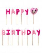 Minnie Maus™ Happy Birthday Geburtstagskerzen Lizenzware