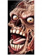 Verrottender Zombie Tür-Poster Halloween Party-Deko bunt 76x152cm