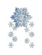 Schneeflocken-Hängedeko Weihnachten