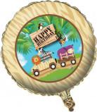 Aluminium-Ballon Safari Kindergeburtstag 46cm