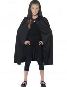 Kapuzen-Cape Kostümzubehör für Kinder schwarz