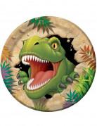 Set Pappteller Dinosaurier