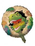 Aluminium-Luftballon Dinosaurier Kindergeburtstag 46cm
