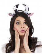 Kopfschmuck mit Kuhhörnern für Damen