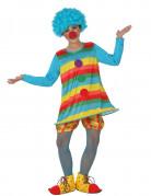 Fröhlicher Clown Kinderkostüm bunt