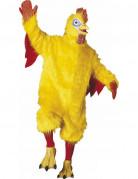 Hahn Plüsch Kostüm Deluxe M/L gelb-rot