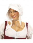 Holländerhaube Kostüm-Zubehör weiss