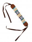 Indianer Armband braun-bunt