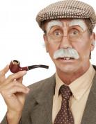 Alter Mann Accessoires Schnurrbart und Augenbrauen