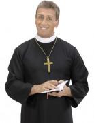 Kreuz-Halskette für Erwachsene Mönch gold