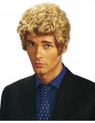 Lockenperücke für Herren Kostümaccessoire blond