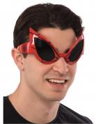 Spiderman™ Brille für Erwachsene rot-schwarz