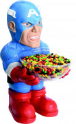 Captain America Bonbonschalen-Halter Dekofigur Lizenzware rot-blau-weiss 40cm
