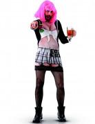 Freche Studentin Herrenballett-Kostüm bunt