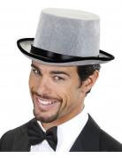 Edelmann Zylinder Kostüm-Accessoire grau-schwarz