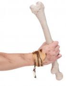 Steinzeit-Armband Höhlenmensch Kostümaccessoire braun