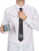 FBI-Krawatte schwarz