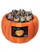 Bonbons in Kürbisschale Halloween-Süßigkeit orange 700g