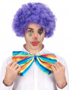 Clownsperücke Afroperücke lila