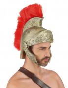Römer Gladiatoren-Helm mit Kamm gold-rot