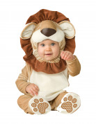 Löwen-Babykostüm Tierkostüm für Babys beige-braun