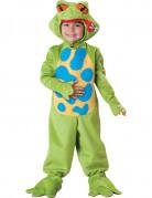 Süsser Frosch Kinderkostüm Tierkostüm grün