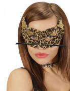 Leopardenmaske für Damen