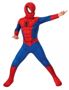 Spiderman™-Kostüm für Kinder Karneval rot-blau