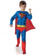 DC Superman Superhelden Kinderkostüm Deluxe Lizenzware blau-gelb-rot