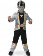 Power Rangers™ Silver Super Mega Force Kinderkostüm schwarz-silber