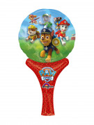 Paw Patrol Alu-Luftballon Lizenzartikel rot-bunt 15 x30 cm