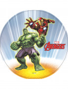 Hulk™ und Iron Man™ Oblate 20cm