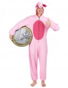 Süsses Schwein Damenkostüm rosa-pink
