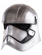 Captain Phasma Erwachsenen-Maske zweiteilig Star Wars VII™ silber-schwarz