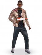 Finn Star Wars XII™ Deluxe Erwachsenen-Kostüm schwarz-bronze