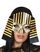 ägyptische Pharao-Augenmaske schwarz-gold