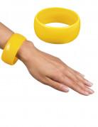 Armreif breit in Gelb für Damen