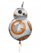Alu-Luftballon Star Wars VII™ - BB-8 Dekoration Lizenzprodukt weiß-orange 43 cm