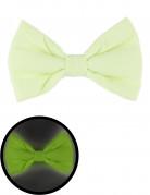 Fluoreszierende Fliege Kostümzubehör grün 13,5 x 8 cm