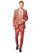 Mr. Weihnachten - Suitmeister-Anzug - rot-grün