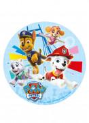 Paw Patrol™ Tortenbild Kuchenplatte Kuchen-Accessoire Lizenzware bunt 16cm