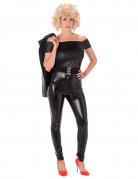 50er Jahre Damenkostüm schwarz