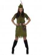 Furchtlose Rächerin-Kostüm grün