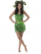 Süße Waldelfe Fee Damenkostüm grün