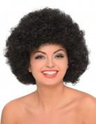 70er-Jahre Afro Perücke Faschingsperücke Unisex schwarz