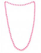 Perlenhalskette pink