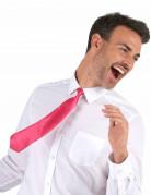 Krawatte Kostümaccessoire neonpink